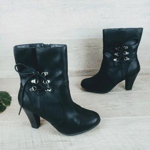 Attention Heeled Booties